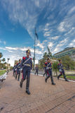 Horse Grenadiers in Buenos Aires, Argentina. Royalty Free Stock Photography