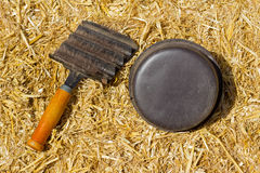 Horse Grooming Equipment Royalty Free Stock Photography