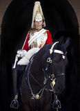 Horse Guard at Horseguards Parade in London Stock Photo