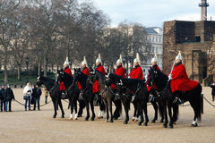 The Horse Guard Royalty Free Stock Image