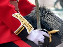 Horse Guards. Close up of Horse Guard stock photography