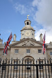 Horse Guards Arch and Parade. Horse Guards Arch and Horse Guards Parade in London Royalty Free Stock Image