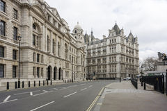 Horse Guards Avenue Stock Photography