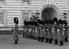 Horse Guards at Buckingham Palace Royalty Free Stock Photography