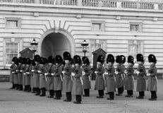 Horse Guards at Buckingham Palace Stock Photo