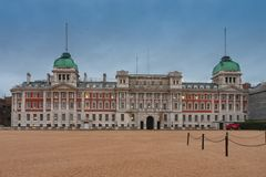 Horse Guards building and Horse Guards Parade. In the morning in London, United Kingdom stock photo
