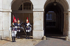 Horse Guards Stock Photography