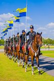 Horse Guards Of Thailand Stock Photography