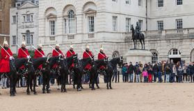 Horse Guards off Whitehall in London Royalty Free Stock Image