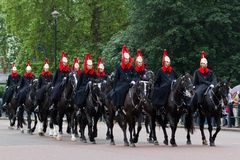 Horse Guards Parade Royalty Free Stock Photography