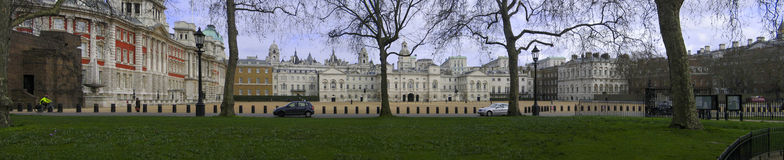 Horse Guards Parade and Admiralty House Stock Photo