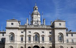 Horse Guards Parade building, Whitehall, London, England Royalty Free Stock Image