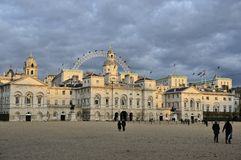 Horse Guards Parade at dusk Royalty Free Stock Photo
