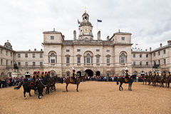 The Horse Guards Parade in London Royalty Free Stock Photography