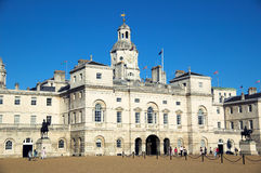 Horse Guards Parade (London). Horse Guards Parade in Whitehall is were the Queen each year presents The Trooping Of  The Colour ceremony Royalty Free Stock Photo