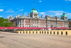 Horse Guards Parade. London. Horse Guards Parade on blue sky background. London. UK Stock Photos