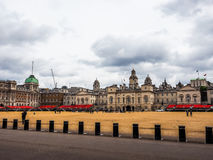 Horse Guards parade in London (hdr). LONDON, UK - CIRCA JUNE 2017: Horse Guards parade ground (high dynamic range Royalty Free Stock Photos