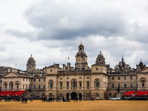 Horse Guards parade in London (hdr). LONDON, UK - CIRCA JUNE 2017: Horse Guards parade ground (high dynamic range Stock Photos