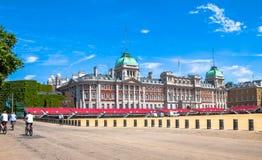 Horse Guards Parade. London. UK. Horse Guards Parade on blue sky background.  London. UK Royalty Free Stock Image