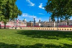 Horse Guards Parade. London. UK. Horse Guards Parade on blue sky background. London. UK Royalty Free Stock Photo