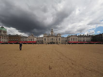 Horse Guards parade in London. LONDON, UK - CIRCA JUNE 2017: Horse Guards parade ground Royalty Free Stock Photos