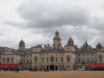 Horse Guards parade in London. LONDON, UK - CIRCA JUNE 2017: Horse Guards parade ground Royalty Free Stock Photo