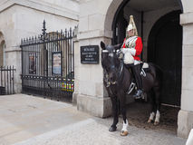Horse Guards parade in London Stock Photography