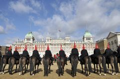 Horse Guards Parade with Old Admiralty building Royalty Free Stock Photo