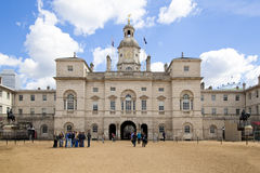 Horse Guards Parade. Westminster, Stock Photo