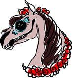 Horse halkoween Stock Image