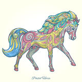 Horse hand drawn ornament vector illustration Royalty Free Stock Image