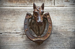 Horse Head Doorknocker. Royalty Free Stock Photography