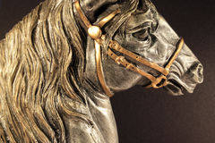 horse head figurine Stock Images