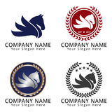 Horse Head Logo Concept Royalty Free Stock Photo