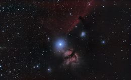 Horse Head Nebula Royalty Free Stock Images