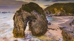 Horse Head Rock, Bermagui, New South Wales Royalty Free Stock Photo