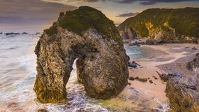 Horse Head Rock, Bermagui, New South Wales Stock Photo