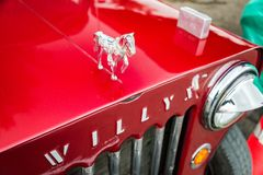 Horse Hood Ornament Royalty Free Stock Photography
