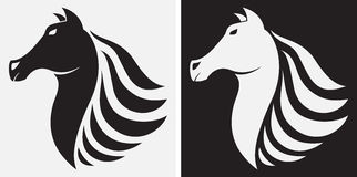 Horse icon Stock Photo