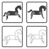Horse Icon Royalty Free Stock Image