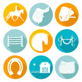 Horse Icons Royalty Free Stock Images
