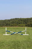 Horse Jump Cross Bar Equestrian Royalty Free Stock Photo
