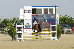 Horse jump Royalty Free Stock Photography