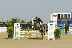 Horse jump Royalty Free Stock Photos