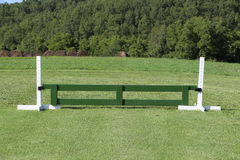 Horse Jump Gate Equestrian Stock Photo