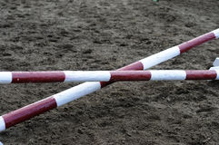 Horse Jump Obstacle Stock Images