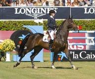 Horse jumping - Athina Onassis Stock Photography