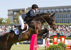 Horse jumping - Athina Onassis Stock Images