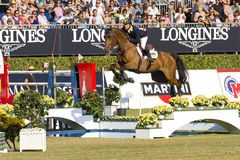 Horse jumping - Cassio Rivetti Stock Images