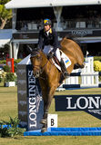 Horse jumping - Cassio Rivetti Royalty Free Stock Photos